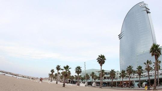 Nejdražší hotel v Barceloně, kde byli Monika a Ben ubytováni.