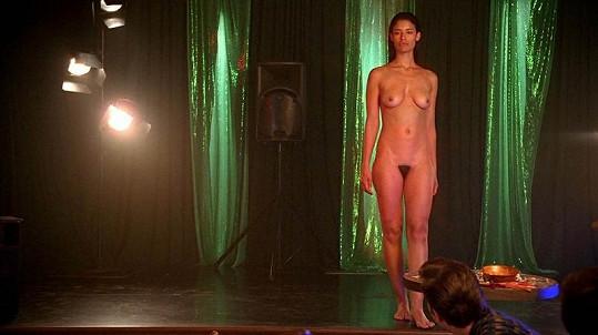 Jessica Clark se v seriálu předvedla v celé kráse.