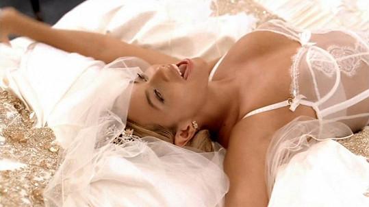 Svůdná póza překrásné Beyonce.