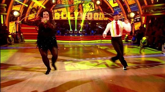 Lisa Riley nyní hubne tancem v soutěži Strictly Come Dancing.