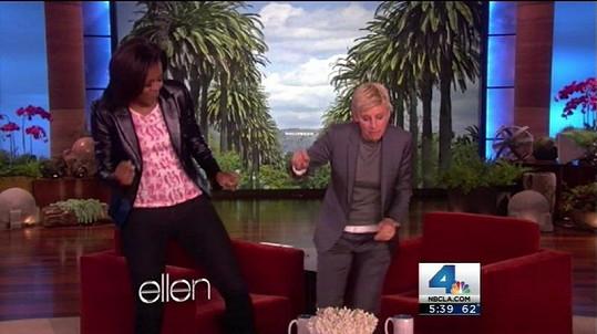 První dáma USA Michelle Obama to umí pořádně roztočit.