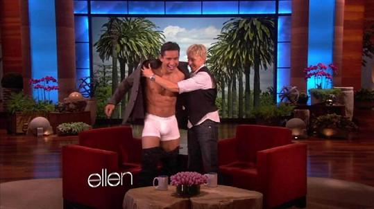Ellen DeGeneres se měla směle k činu.