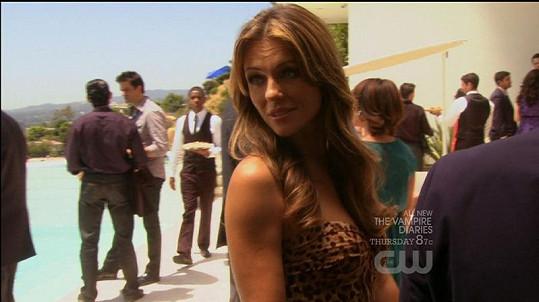 Liz vypadá i v šestačtyřiceti úžasně.