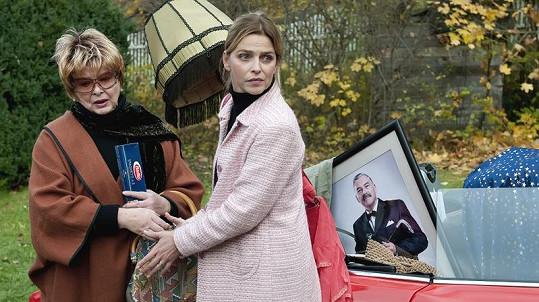 Alena Vránová s Lucií Zedníčkovou.