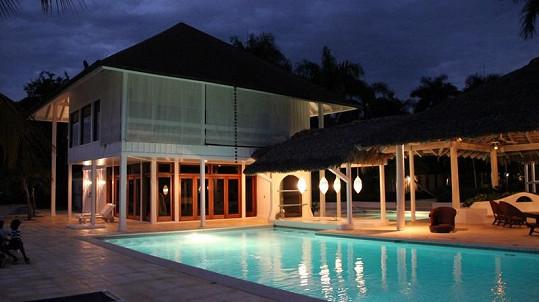 Vila, ve které se bude odehrávat Hotel Paradise.