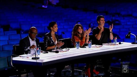 Všichni porotci soutěže X Factor.