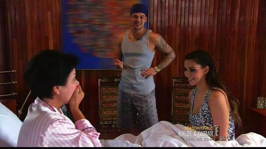 Jenner se za svůj vzhled styděla i před dcerou Kim a synem Robem.