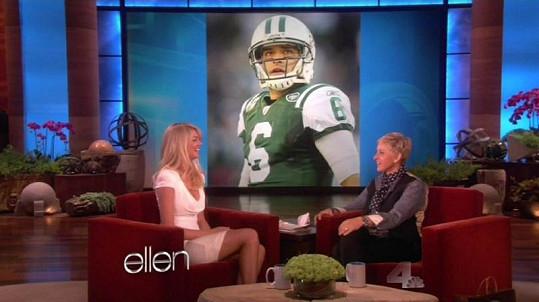 Kate nečekala, že si na ni Ellen připraví i přítele Marka v nadživotní velikosti.