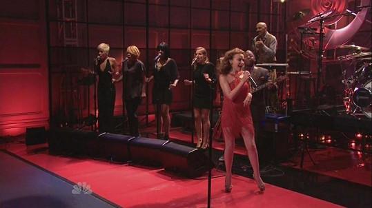 Kylie vystoupila v The Tonight Show.
