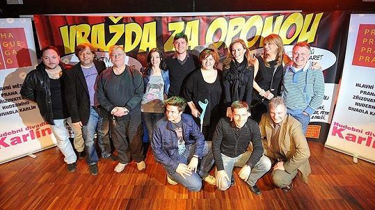 V muzikálu Vražda za oponou vedle Absolonové budou hrát Ivana Chýlková, Ondřej Brzobohatý, Milan Štaidler, Lumír Olšovský a další známé tváře