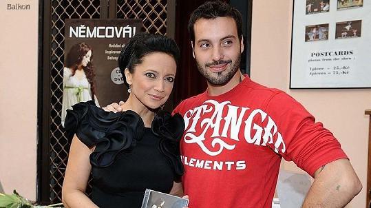 Lucie Bílá s exmanželem Vaškem Noidem Bártou.