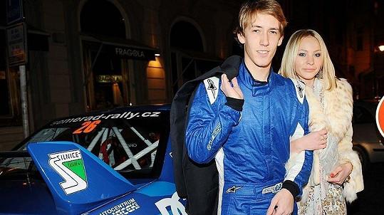 Na charitativní akci dorazil i závodník Martin Semerád.