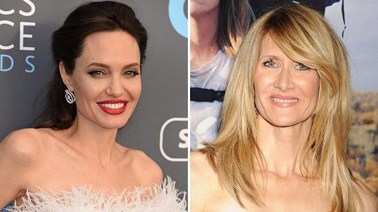 Angelina Jolie a Laura Dern