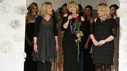 Eliška Balzerová byla hvězdou módní show