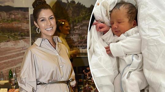 Victoria je trojnásobnou maminkou. Syna Zacharyho porodila v březnu.