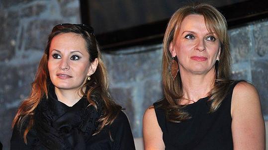 Monika Absolonová a Ivana Chýlková představily muzikál Vražda za oponou