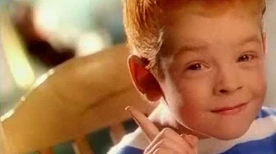 Syn Pavla Trávníčka Pavel Dytrt si ve čtyřech letech zahrál v dodnes vysílané reklamě na české kečupy.