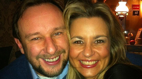 Monika Marešová se svým novým partnerem dopravním magnátem Markem Lehečkou.