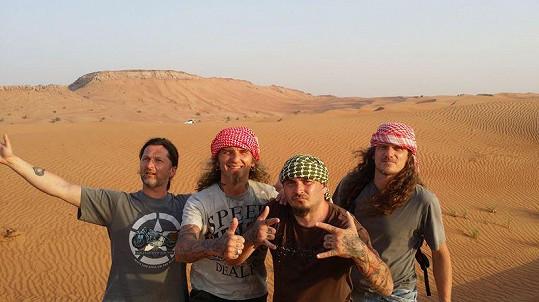 Pak už dovolená pokračovala podle běžných standardů: výlety do pouště