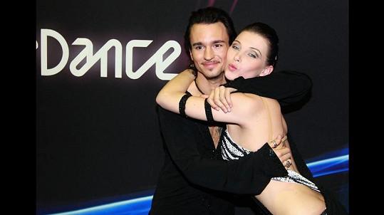 Iva Frühlingová soutěžila ve třetím ročníku s Michalem Kostovčíkem.