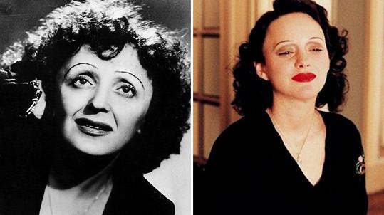 Marion Cotillard získala Oscara za roli Edith Piaf (vlevo).