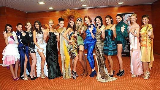 Finalistky České Miss