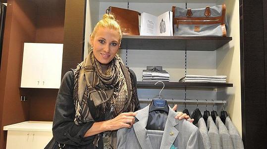Misska Kateřina Průšová vybírala oblečení pro svého přítele.
