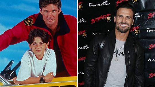 Jeremy Jackson si zahrál syna Mitche Buchannona Hobieho.