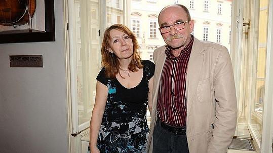 Jaroslav Uhlíř se svým andělem strážným, psycholožkou Helenou Chladovou.