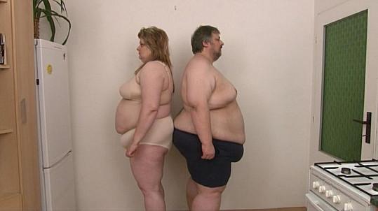 Takhle Jana a Michal Matoušovi vypadali před zahájením diety.