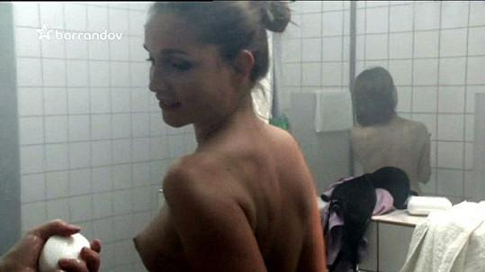 Hana Vagnerová v seriálu Odsouzené.