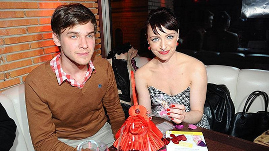 Tatiana Vilhelmová a Vojta Dyk na film párty.