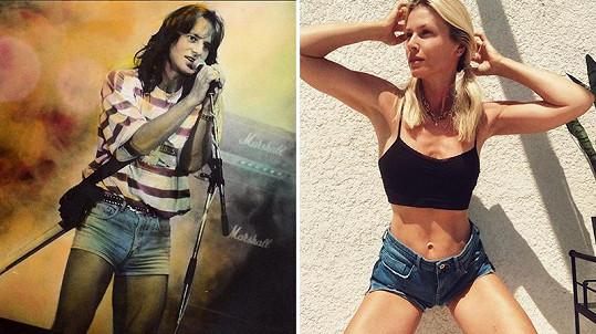 V domácnosti Habery jsou vůbec oblíbené, loni podobné oblékla i zpěvákova partnera Daniela Peštová.