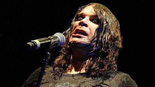 Ozzy Osbourne během koncertu.
