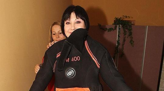 Dáda Patrasová se po operaci krční páteře rozhodla hubnout.