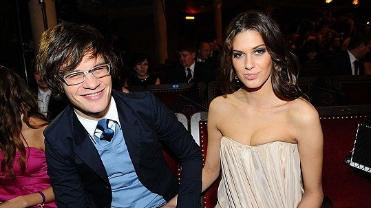 David Kraus s bývalou partnerkou, modelkou Anetou Vignerovou