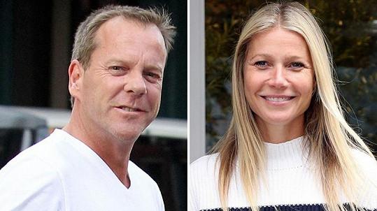 Kiefer Sutherland a Gwyneth Paltrow