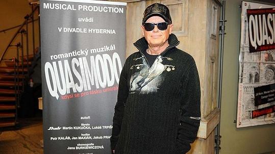 Jiří Korn na konkurzu do muzikálu Quasimodo