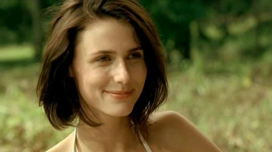Dominika Homolová v reklamě.