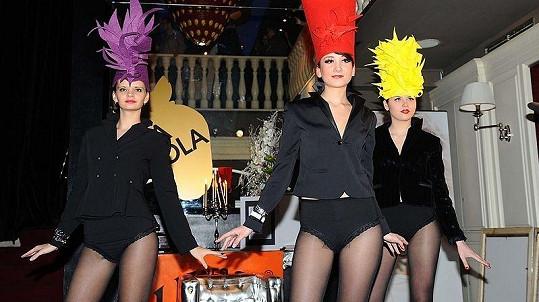 Součástí akce, na které Sámer Issa představil své charitativní projekty, byla i módní přehlídka návrhářky Olgy Rusakové.