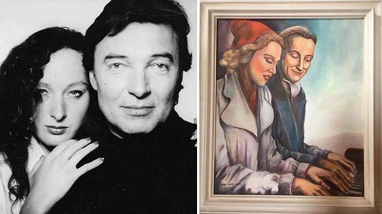 Karel Gott se s Alicí přátelí dlouhých pětatřicet let.