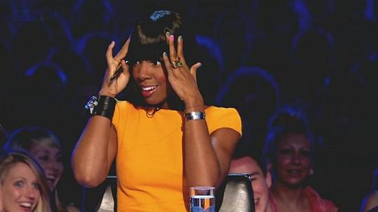Kelly Rowland byla jako členka poroty z výkonu velmi nesvá.