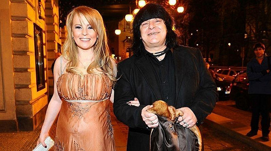 Iveta Bartošová se svým novým manažerem Richardem Dušákem