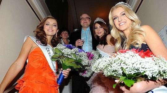 Zdeněk Bakala s vítězkami České Miss