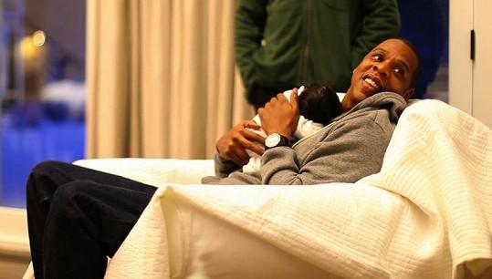 Jay-Z je z dcery úplně hotový.