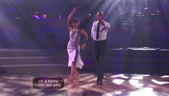 Taneční dvojice v soutěži Dancing With The Stars.