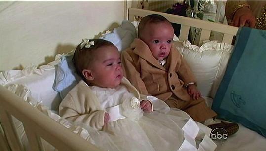 Mariah ukázala před časem dvojčata Monroe a Maroccana televizi ABC.