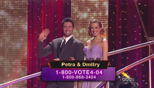Petra letos tančila v soutěži Dancing With The Stars.