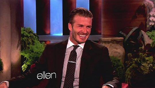 David Beckham v The Ellen DeGeneres Show.