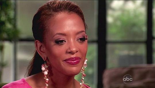 Blair Griffith hovoří v televizi ABC o svém těžkém životě.